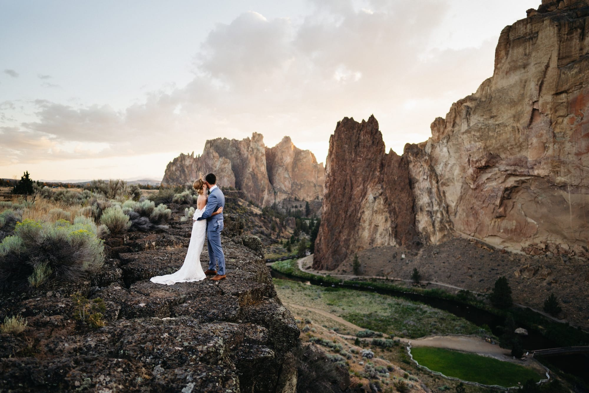 Smith Rock Elopement Photos