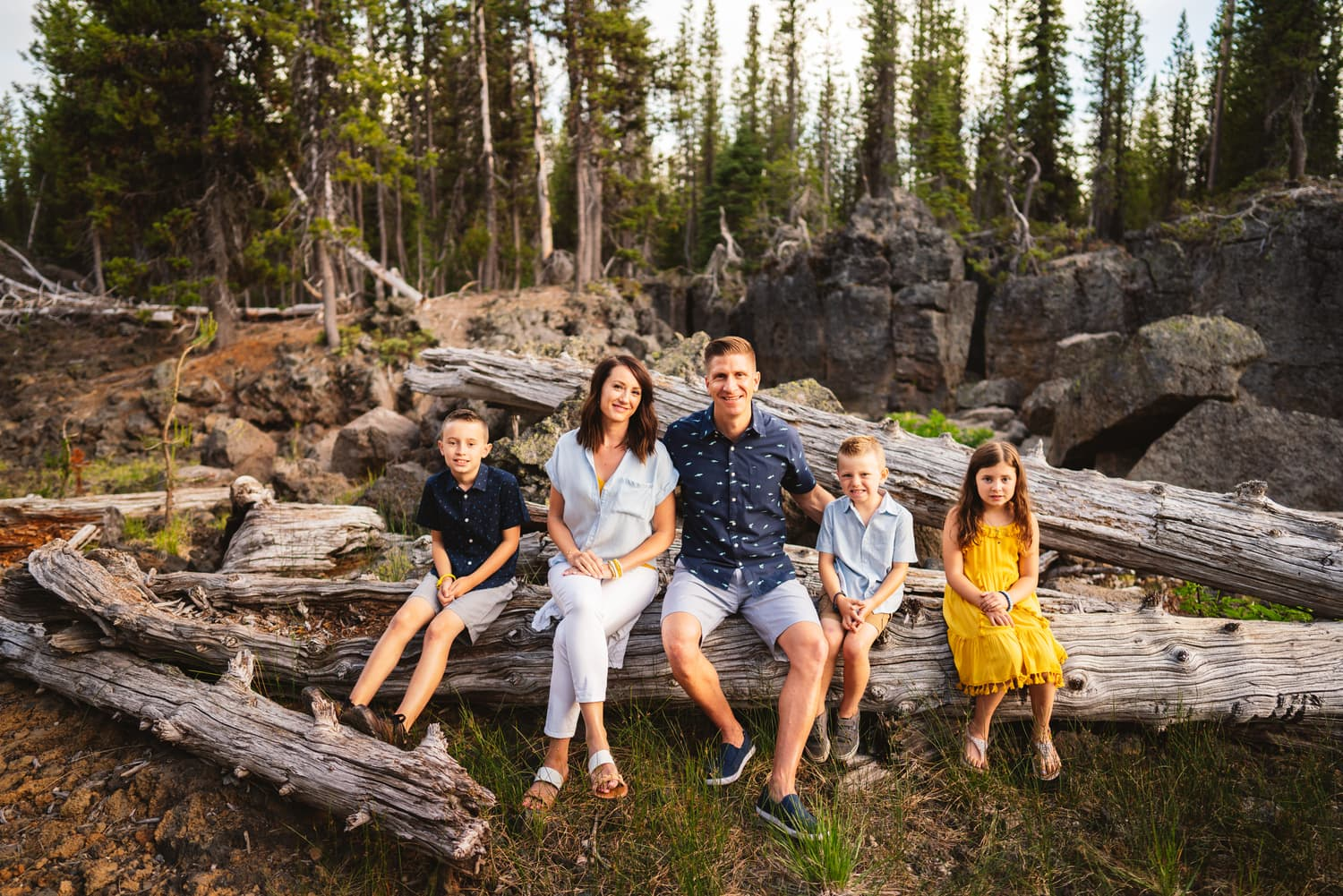 Bend Oregon Family Portrait Photographer