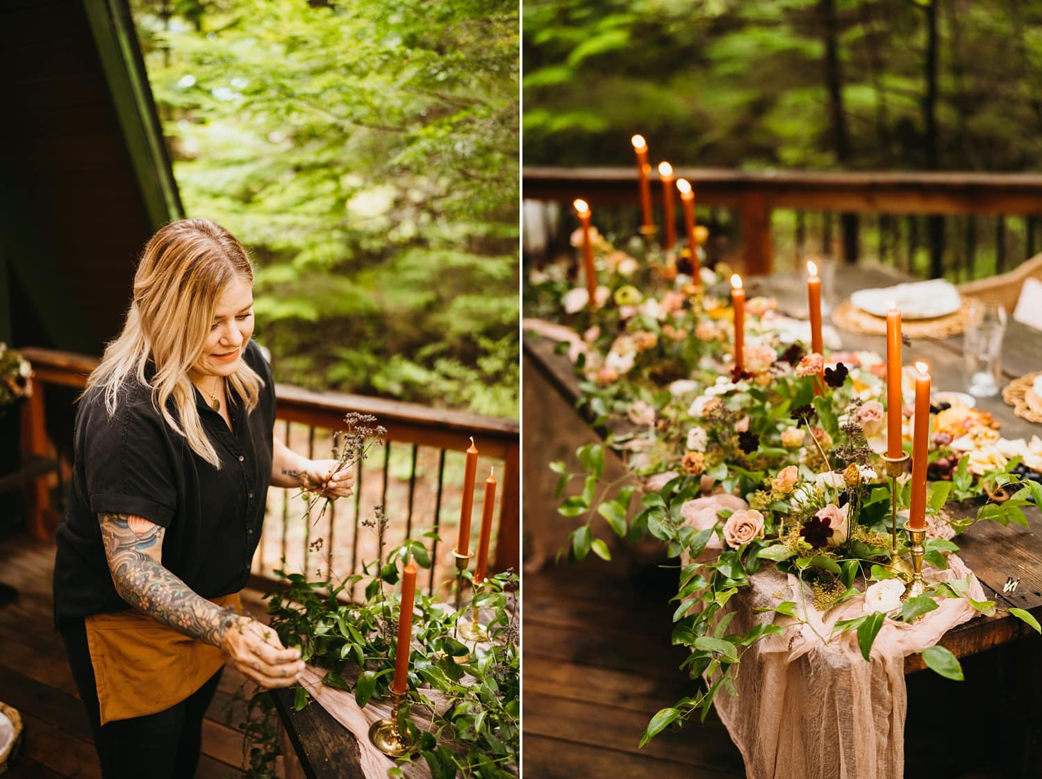 Oregon Elopement with Sea Of Roses