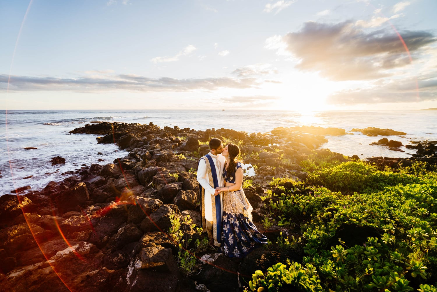 Kauai Wedding Sunset Photos