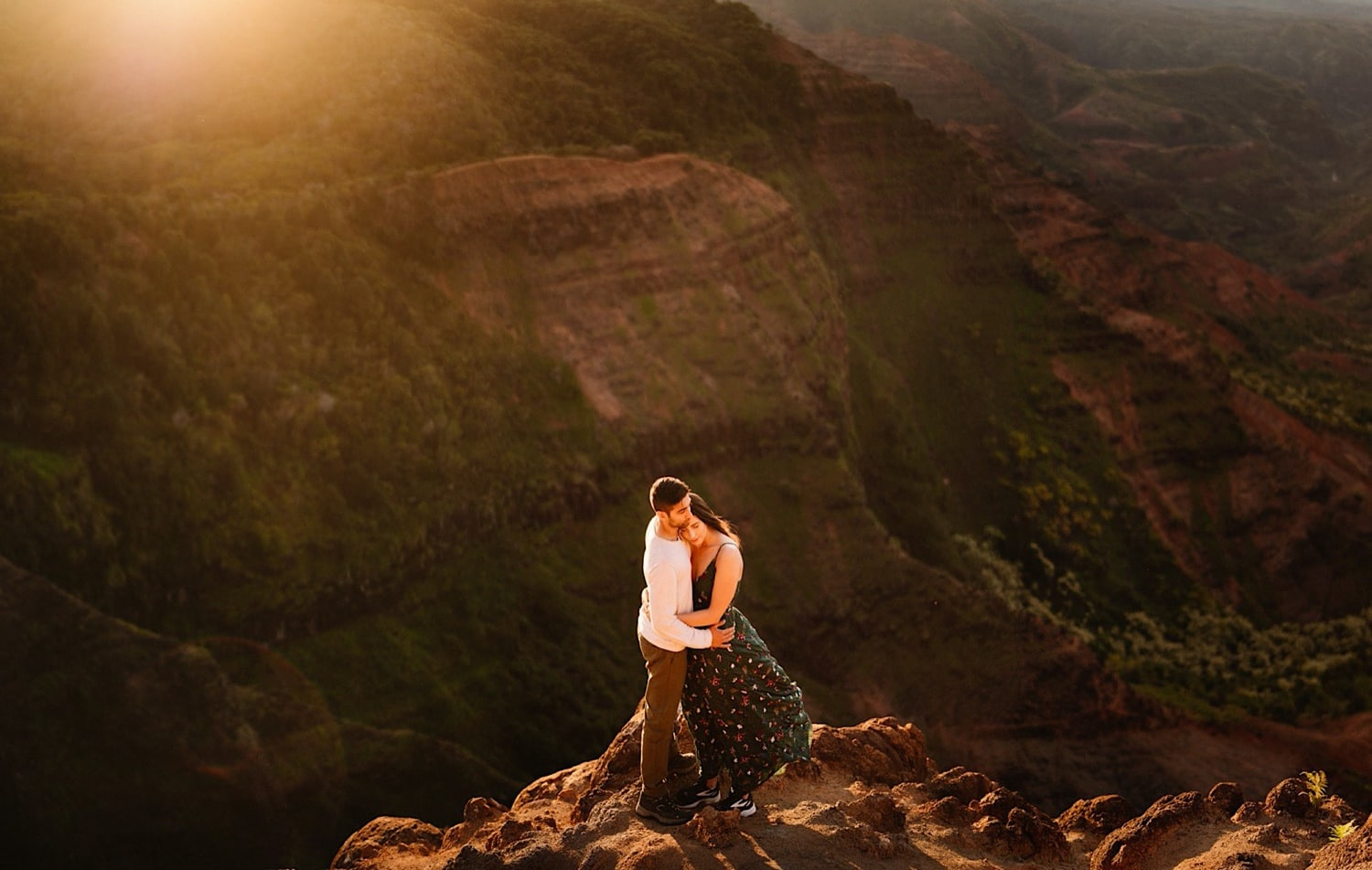 Kauai Waimea Canyon Wedding Photos